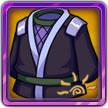 我是火影4星武器物品--漆黑之服