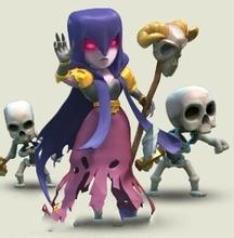 部落冲突女巫LV2属性介绍