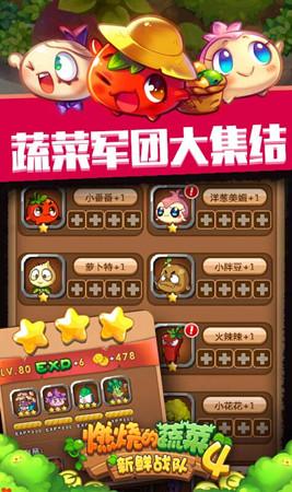 燃烧的蔬菜4新鲜战队游戏截图三