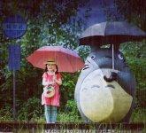 超萌小萝莉龙猫童话写真