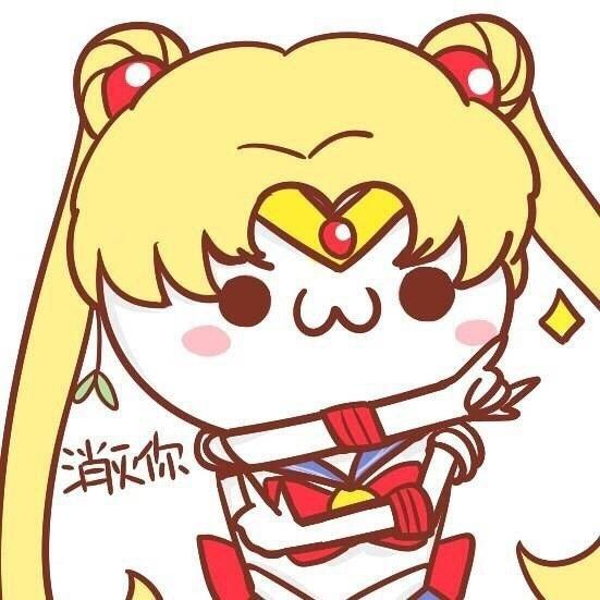 标签:搞笑图美少女战士萌头像 一组炒鸡萌的美少女战士q版头像.