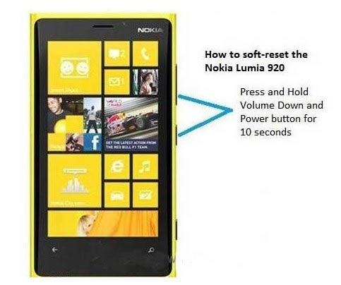 诺基亚lumia 1020软硬格方法 硬启动方法