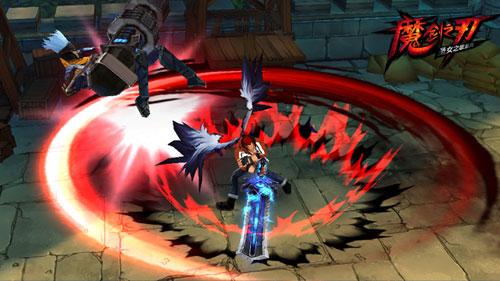 魔剑之刃非RMB斩魂玩家成长之路