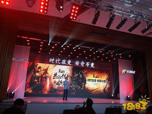 朱笑靖透露《热血传奇手机版》历时两年研发并在年初测试...