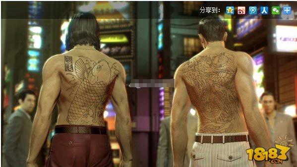 如龙0哪些角色有纹身 如龙0角色纹身汇总