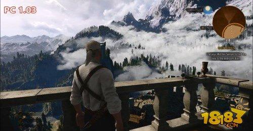 《巫师3》画质升级三连发对比演示 效果显著