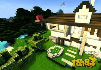 我的世界现代别墅建筑下载