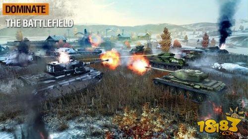 大战来袭 《坦克世界闪电战》迎来2.0版本