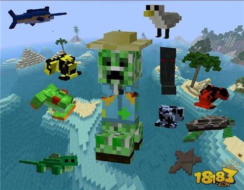 我的世界1.7.10热带雨林工艺mod下载