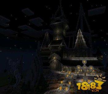 我的世界幽灵城堡建筑存档下载