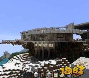 我的世界钢铁侠房屋建筑存档下载图片