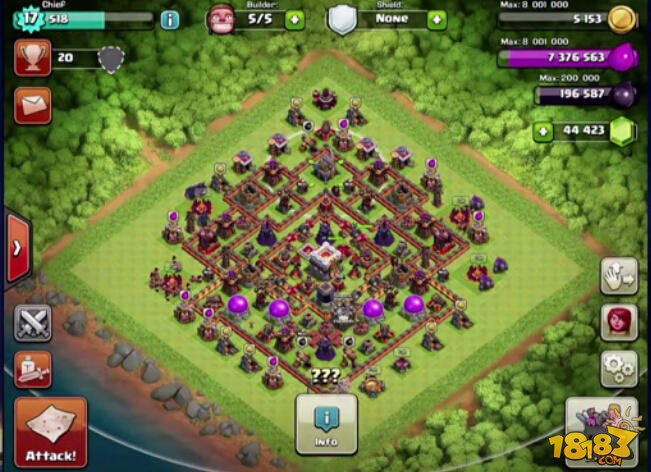 clash of clans злом 11тх #1
