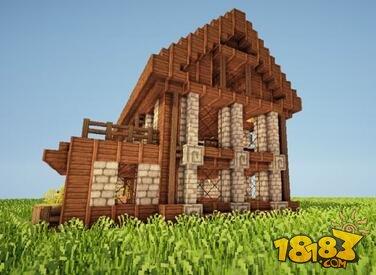 我的世界别墅建造方法