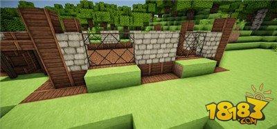 我的世界别墅建造方法 2