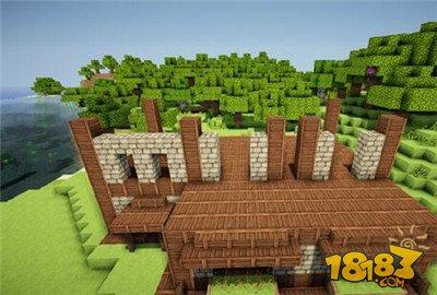 我的世界别墅建造方法(3)