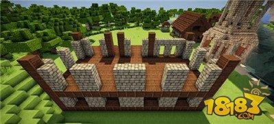 我的世界别墅建造方法 3