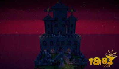 我的世界恐怖气息古堡建筑存档下载