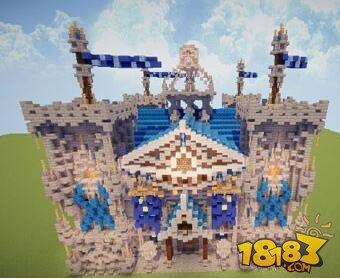 我的世界魔幻城堡建筑存档下载