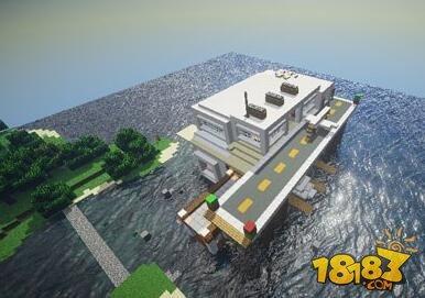 我的世界水上别墅建筑存档下载