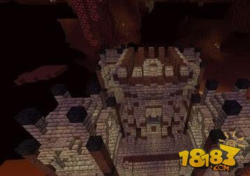 我的世界地狱城堡建筑存档下载图片
