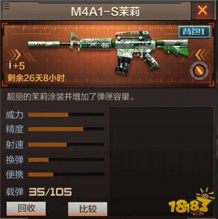 CF手游M4A1-S茉莉怎么样 cf手游M4A1-S茉莉介绍