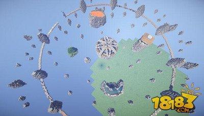 我的世界空岛战争千矿石林地图下载