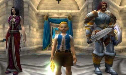 受吉安娜的邀请,瓦王带着手下一帮人民公仆和女仆