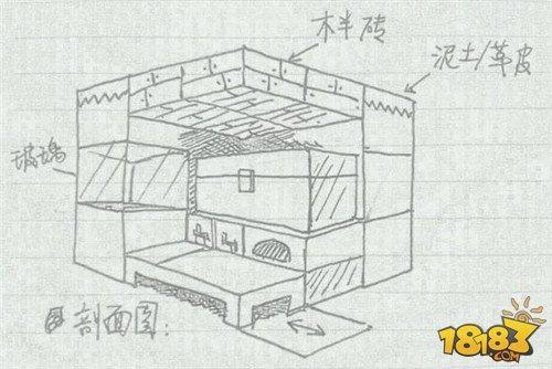 简单房子素描图片简单图片