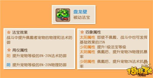 梦幻西游手游第一龙宫谈龙宫法宝选择