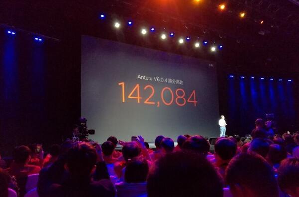 小米5手机新品发布:骁龙820跑分超过14万
