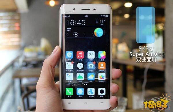 vivo xplay5是首款采用双曲屏设计的国产手机,采用youm柔性屏幕