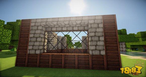 我的世界简单精致的欧式小房子建造教学(3)