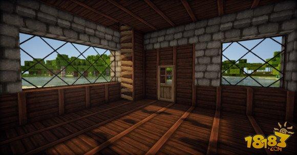 我的世界简单精致的欧式小房子建造教学(6)