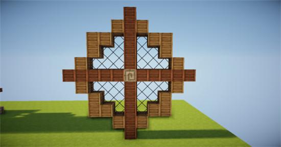 田园风情 我的世界水车建筑制作方法