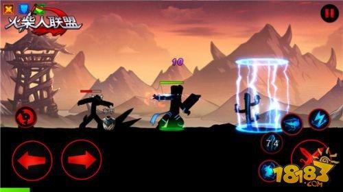 《火柴人联盟》安卓版控制流英雄