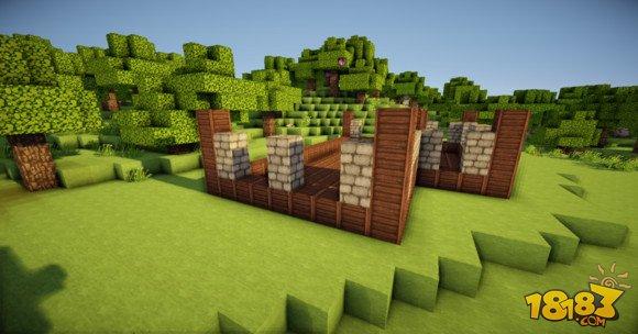 我的世界两层小别墅建筑怎么做 2图片