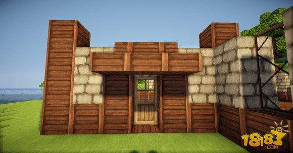 我的世界两层小别墅建筑怎么做 2
