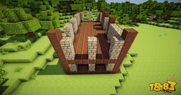 舒适简单 我的世界两层小别墅建筑制作 4图片