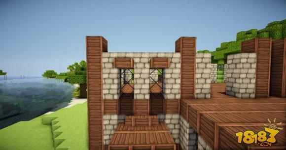 我的世界两层小别墅建筑制作