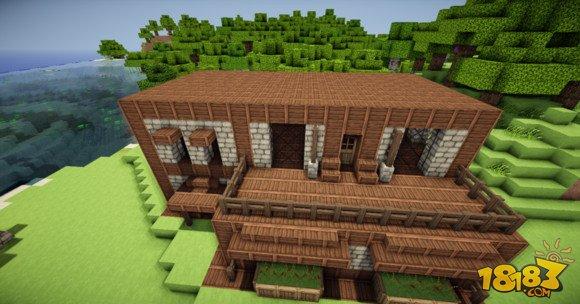 舒适简单 我的世界两层小别墅建筑制作 5图片