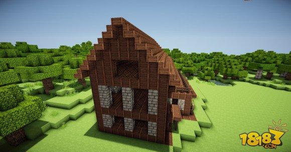 舒适简单 我的世界两层小别墅建筑制作 6图片