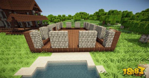 我的世界建筑教学:三层小旅馆建造方法(2)_18183我的 ...