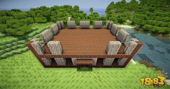 我的世界建筑教学:三层小旅馆建造方法(4)_18183我的 ...
