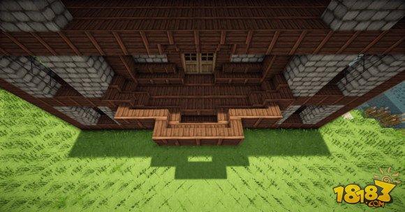 我的世界建筑教学:三层小旅馆建造方法(5)_18183我的 ...