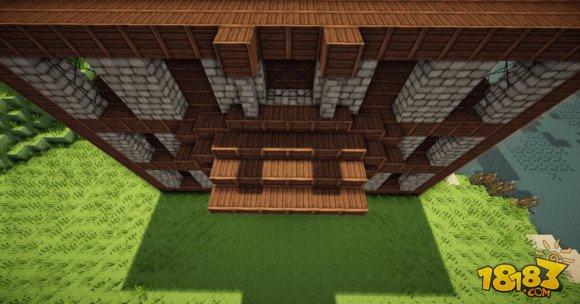 我的世界建筑教学:三层小旅馆建造方法(6)