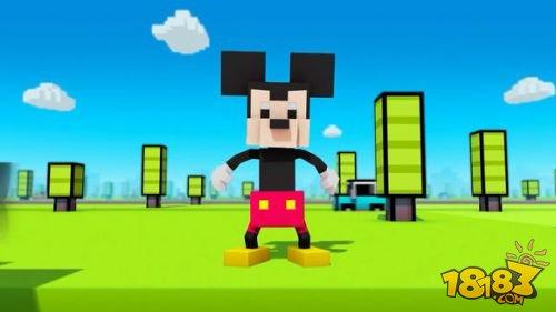《过马路-迪士尼版 disney crossy road》登场,游戏共有9个不同的场景