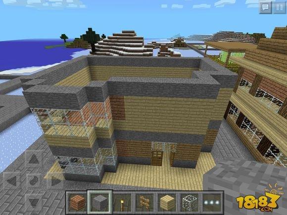 建筑教学 我的世界小别墅建造图文攻略图片