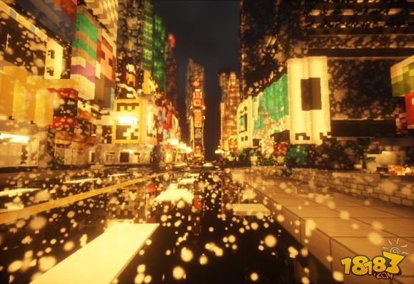 我的世界建筑展示:纽约时代广场(5)_18183我的世界 ...