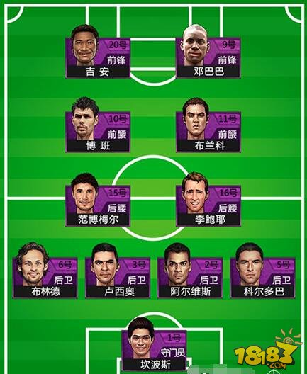 足球阵型位置名称图解_足球阵型