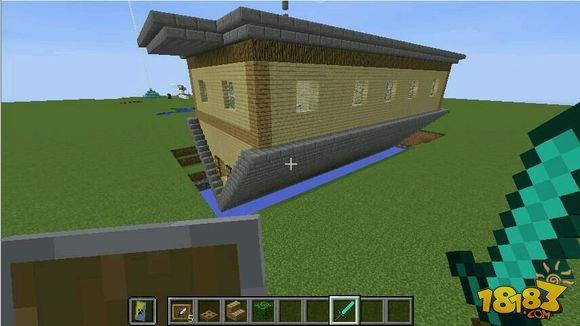 我的世界倒立的房子设计